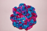 BonBon Crocheted Hair Bun Cover Scolloped
