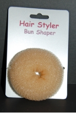 Blonde Hair Bun Shaper Hair Rat