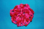 Pink (Candy) Crocheted Hair Bun Cover - Scolloped