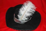 Pirate Novelty Hat With Plume