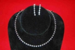Single Strand Rhinestone Choker Set