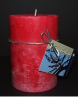 Soy Pillar Candle White Cherry Blossom