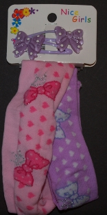 Childrens Stretch Headband Pink and Purple
