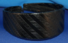 Black Striped Girls Headband (SKU: HB-002)