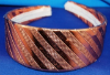 Copper Striped Girls Headband (SKU: HB-004)