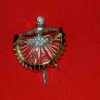 Dancer With Clear Rhinestones Pendant (SKU: JPN-D822)