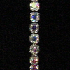 Iridescent Rhinestone Stretch Bracelet (SKU: JBR-CIR13)