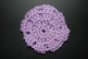 Light Purple Crocheted Hair Bun Cover-Blocked (SKU: HBC-ALPPLB001)