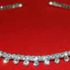 Rhinestone Necklace Choker on Memory Wire (SKU: JNKL-678)
