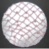 Pink Beaded Hair Bun Net (SKU: HBN-PINKBEAD001)