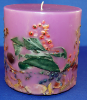 Botanical Pillar Candle Tuscan Vineyard (SKU: JCN-BOT196)